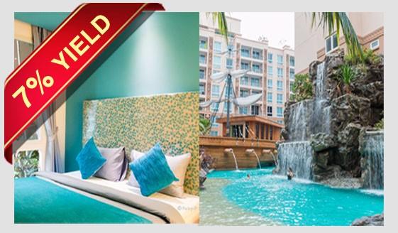 "JOMTIEN BEACH CONDO FOR SALE ""Atlantis Condo Resort"" for sale in Jomtien Pattaya"