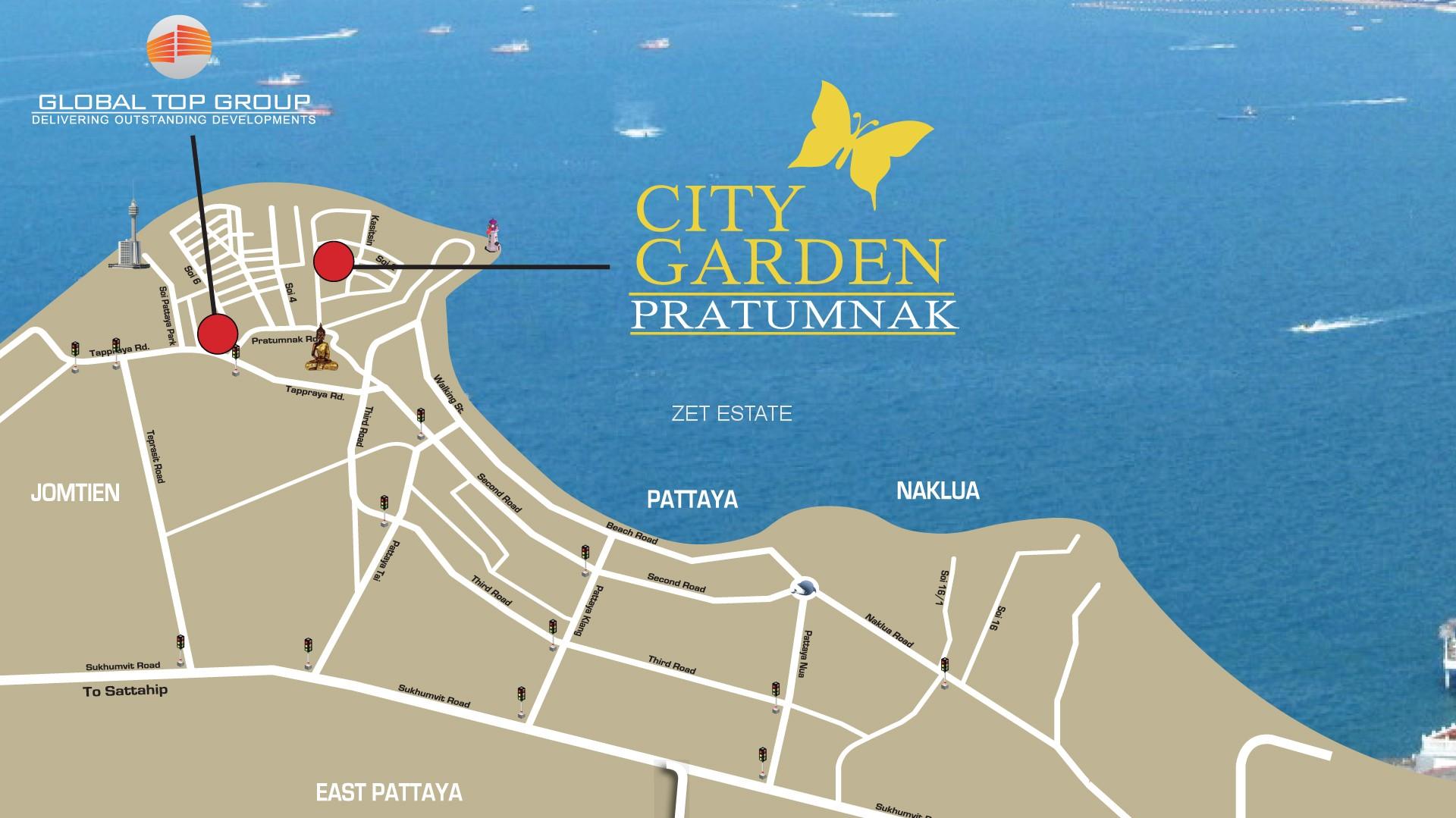 City Garden Pratumnak Zet Estate