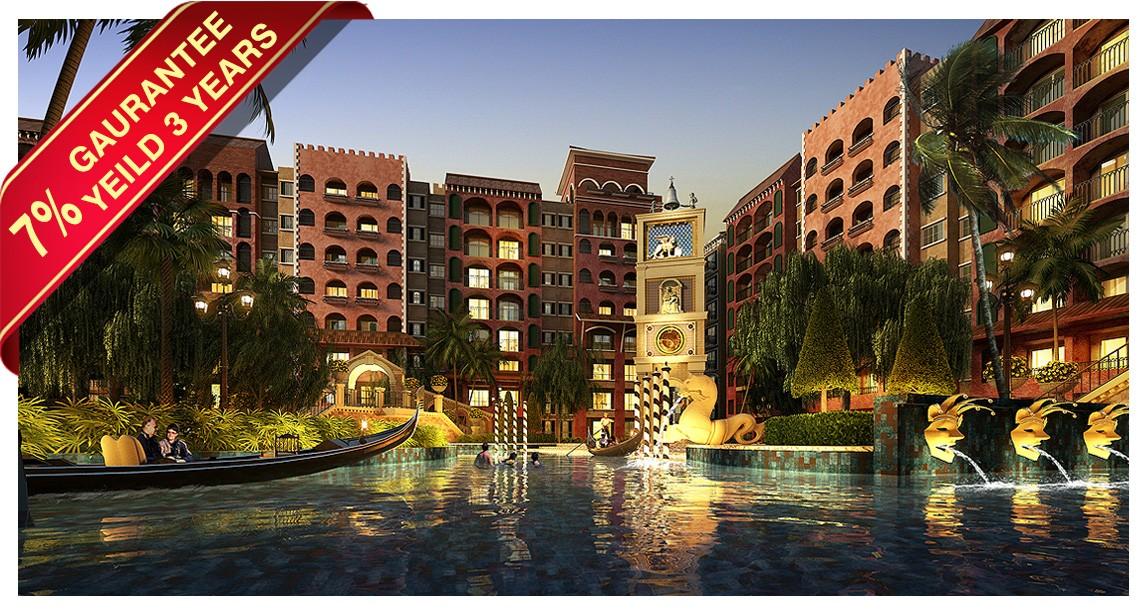 JOMTIEN CONDO FOR SALE Venetian Signature Condo Resort Pattaya for sale in Jomtien Pattaya