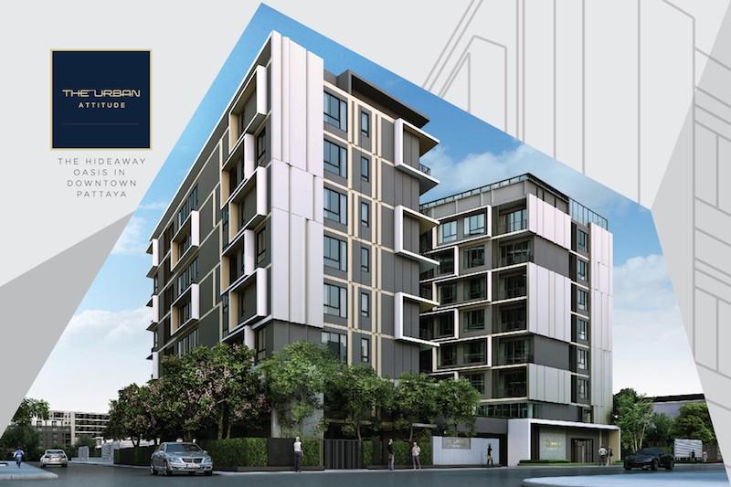the urban attitude Condominiums for sale in Pratumnak Pattaya