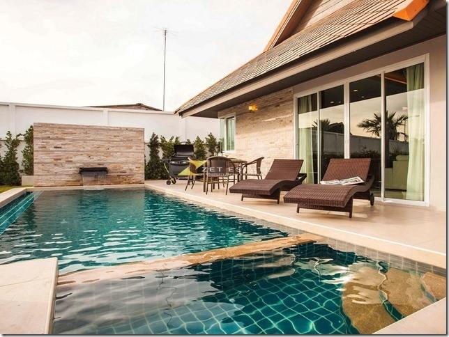 The Ville Jomtien pattaya, luxury 3 BR villa for rent