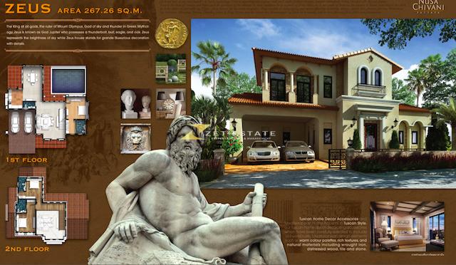 Nusa Chivani Pattaya HOUSE FOR SALE IN PATTAYA 3 BEDROOMS Zet Estate