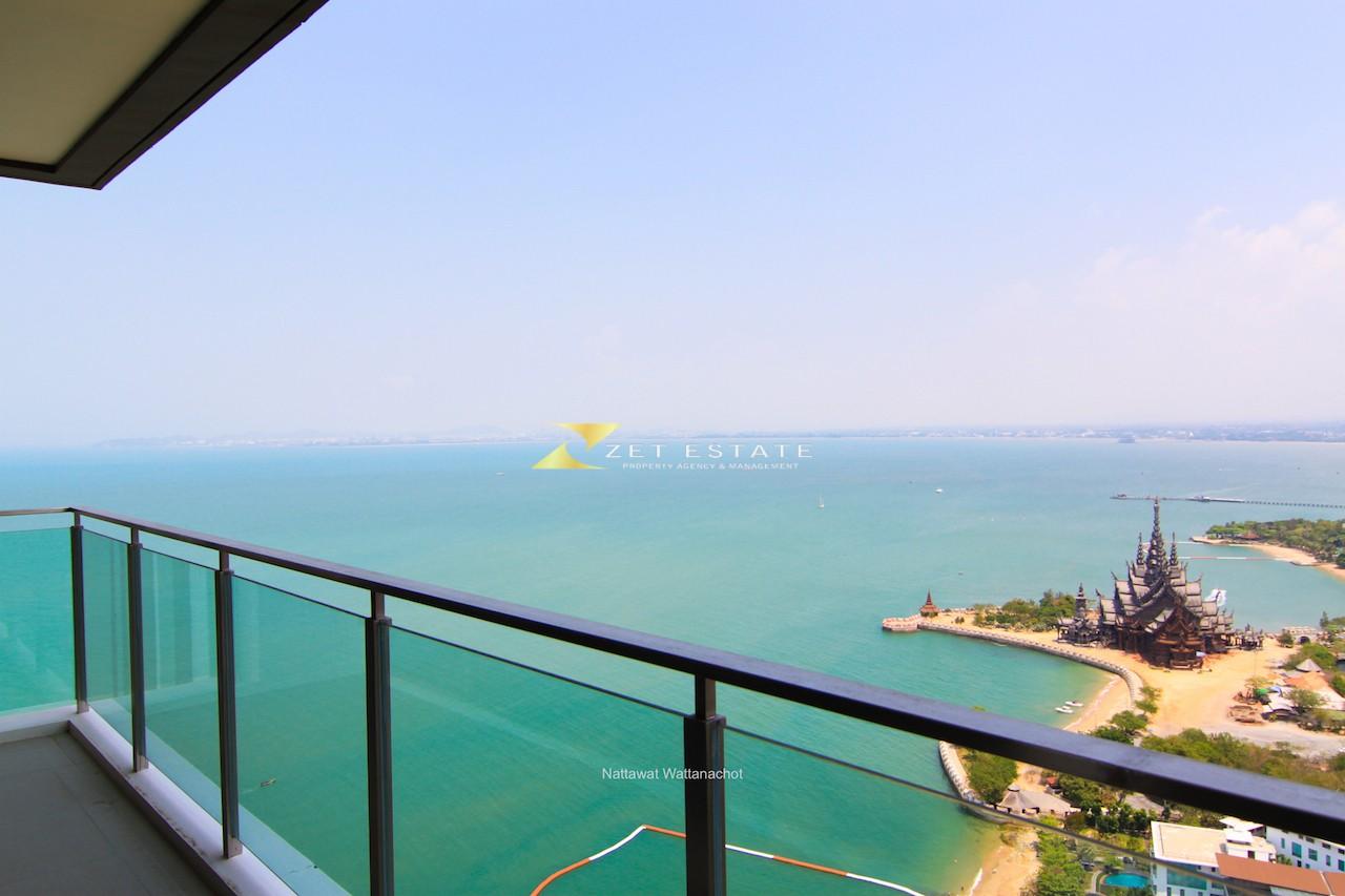 Baan Plai Haad Wong Amat 1 bedroom sea view Condominiums for sale in Wong Amat Pattaya