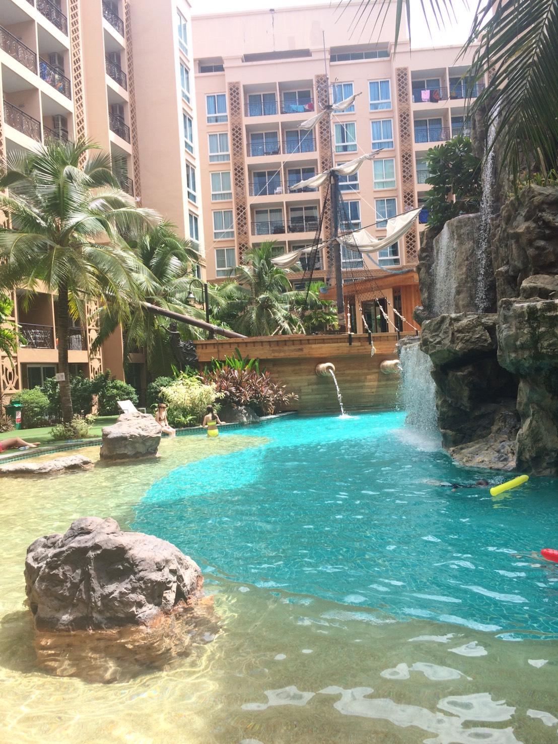 Atlantis condo resort pattaya in jomtien pattaya for rent for Atlantis condo
